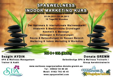 SPA&WELLNESS INDOOR MARKETIN KURS